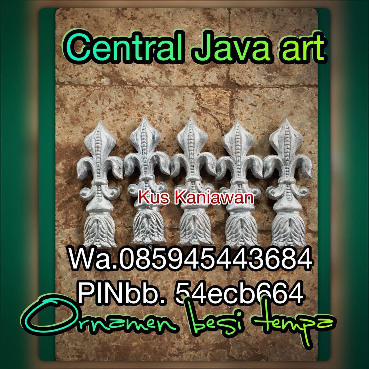 jual ornamen cor alluminium
