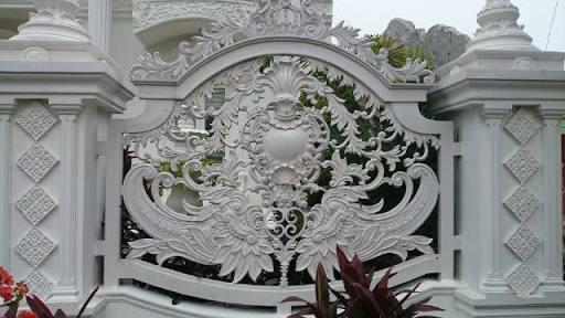 Img 4603 1 Pagar Besi Tempa Klasik Jual Aksesories Besi Tempa Ornamen Alluminium Cor Pagar Besi Tempa