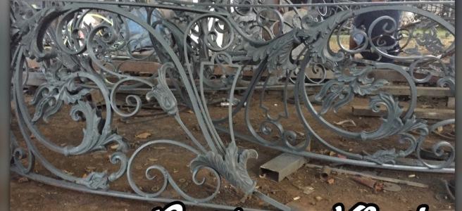 Pagar Besi Tempa Klasik Jual Aksesories Besi Tempa Ornamen Alluminium Cor Pagar Besi Tempa