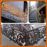 railing tangga klasik